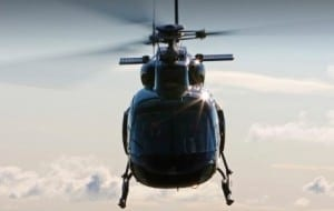One Of PDG Helicopter's Helicopters In Flight