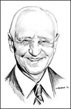 Sketch of Elrey B. Jeppesen