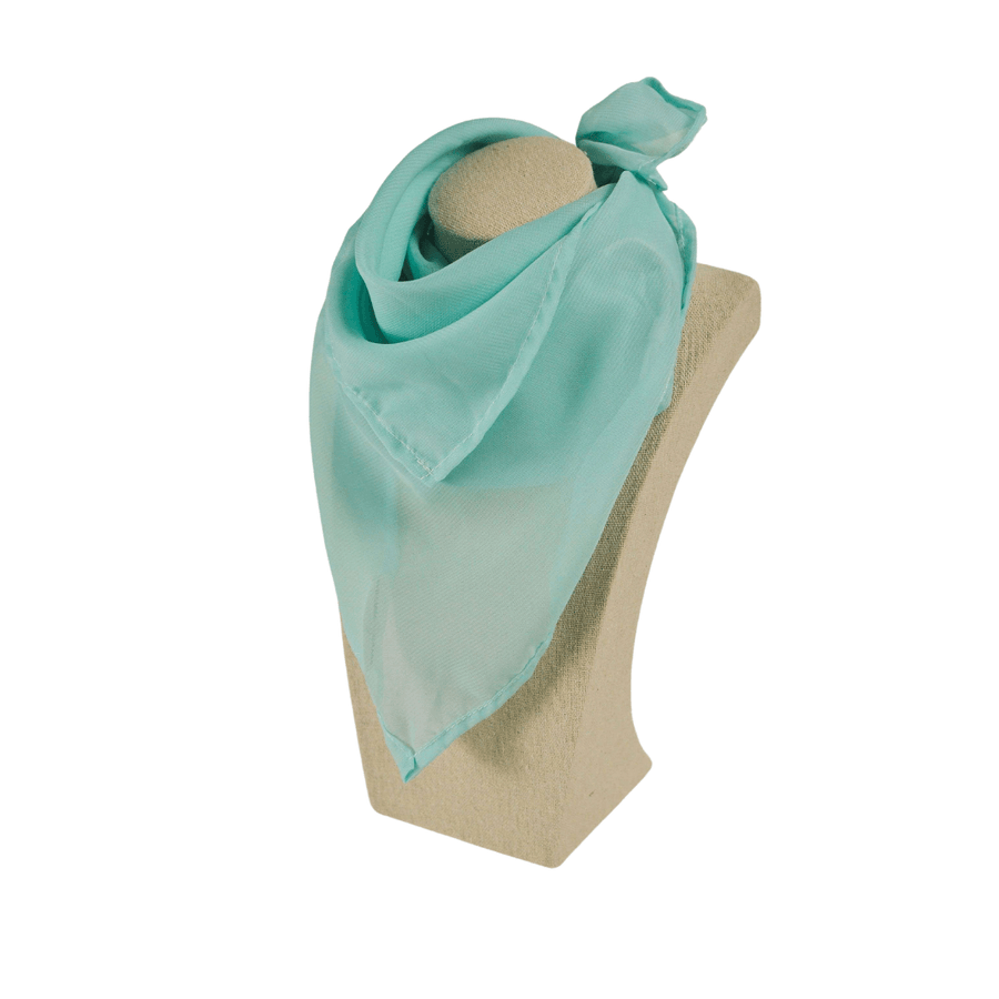 bright mint fashion scarf
