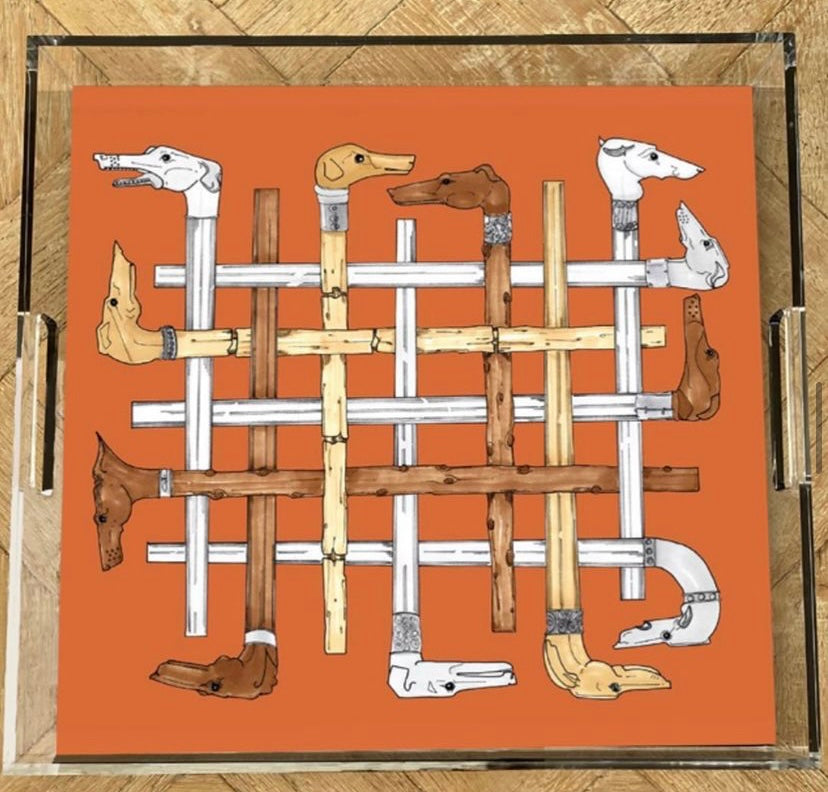 Greyhounds Acrylic Tray