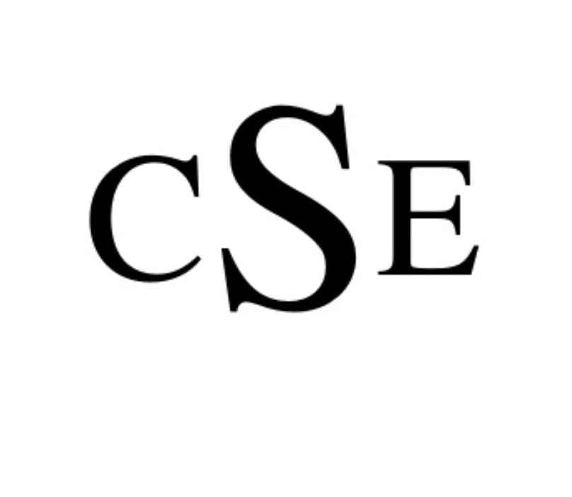 cSe in times new roman