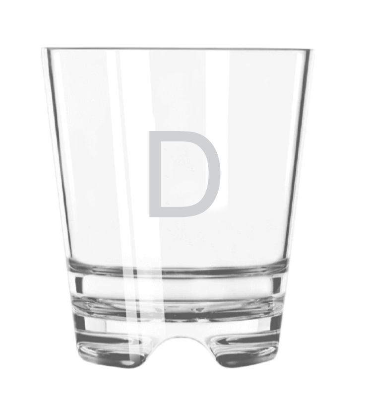 Acrylic Double Old Fashioned Glasses (Set of 4)