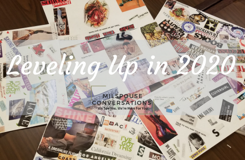 How to create a Vision Board Workshop with Milspouse Conversations