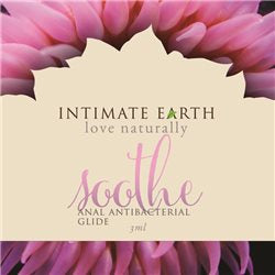 Intimate Earth Soothe Anal Antibacterial Glide - 3ml/.1oz