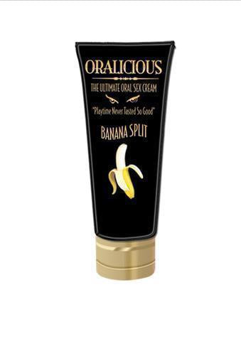 Oralicious The Ultimate Oral Sex Cream in  Banana Split