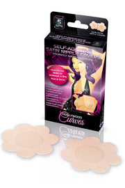 Self Adhesive Satin Nipple Covers 5 Pairs