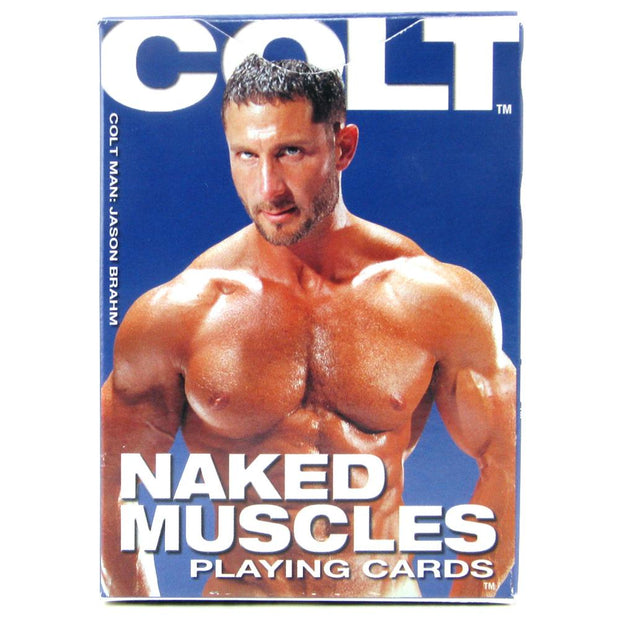 Colt Naked Muscle Playing Cards in Box