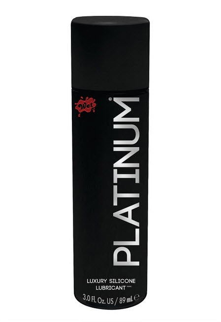 Platinum Luxury Silicone Lubricant in 3oz/89ml