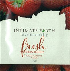 Intimate Earth Oral Pleasure Guide - 3ml/.1oz, Strawberry