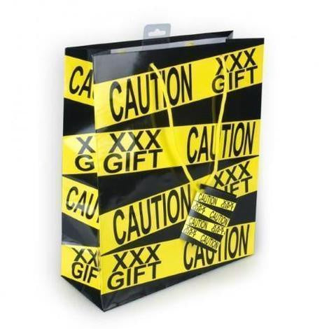 XXX GIFT - CAUTION Bacherolette Bag