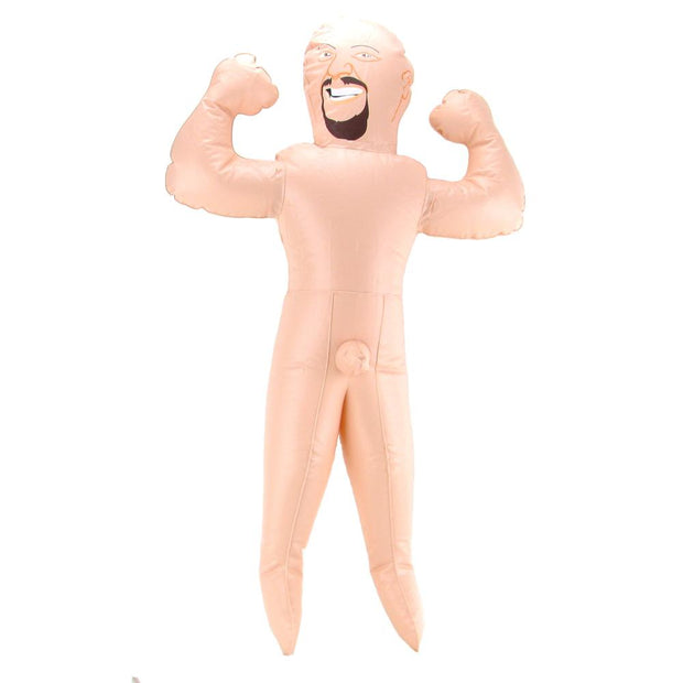 Pipedream Bachelorette Travel Size Midget Man Blow Up Doll 26 inch