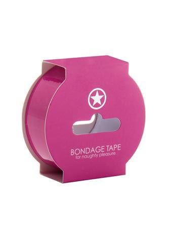 Non Sticky Bondage Tape - 17.5 Meter - Pink