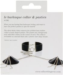 Adore – Collar with Detachable Heart Pasties