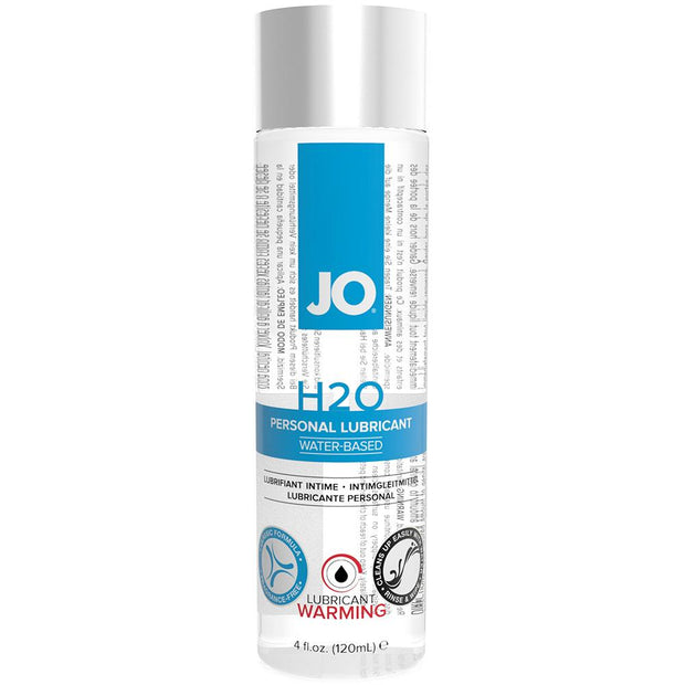 H2O Warming Personal Lube in 4oz/120ml