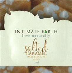 Intimate Earth Oral Pleasure Guide - 3ml/.1oz, Salted Caramel