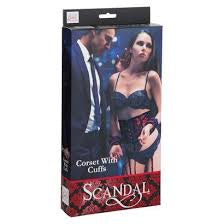 SCANDAL - CORSET WITH CUFFS