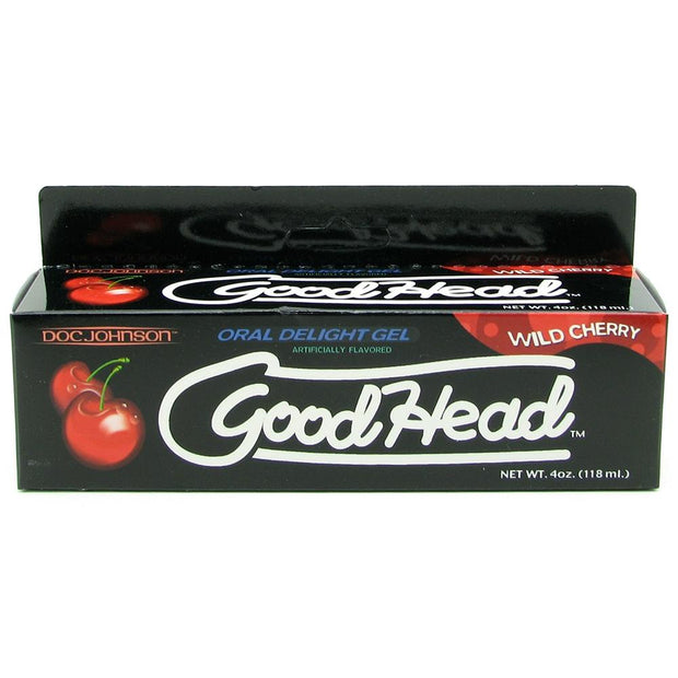 GoodHead Oral Delight Gel 4oz/113g in Wild Cherry