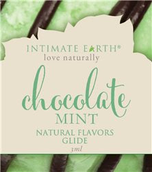 Intimate Earth Oral Pleasure Guide - 3ml, Chocolate Mint