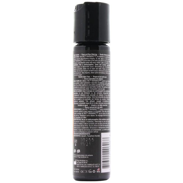 Warming Premium Heating Lubricant in 1oz/30ml