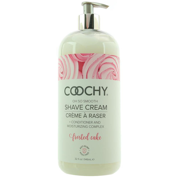 Oh So Smooth Shave Cream 32oz/946ml in Frosted Cake