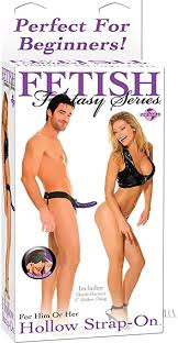 Fetish Fantasy Hollow Strap-On in Purple