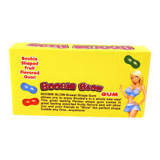 BOOBIE SHAPED GUM BB