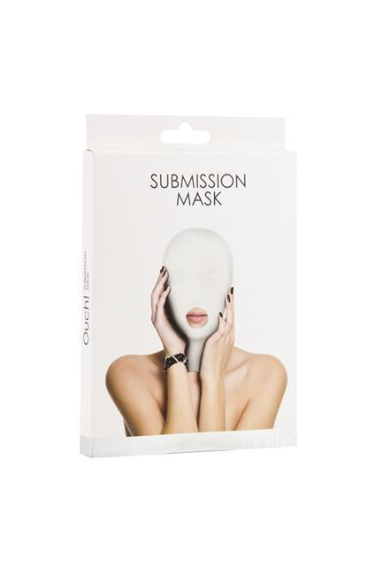 Submission Mask in White