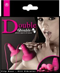 Double Double Silicone Nipple & Clitoral Teasers