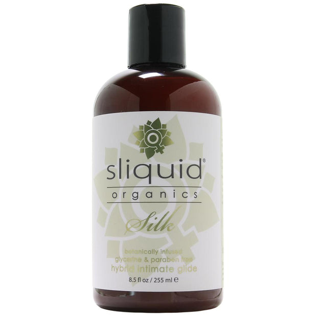 Organics Silk Hybrid Lubricant in 8.5oz/255ml
