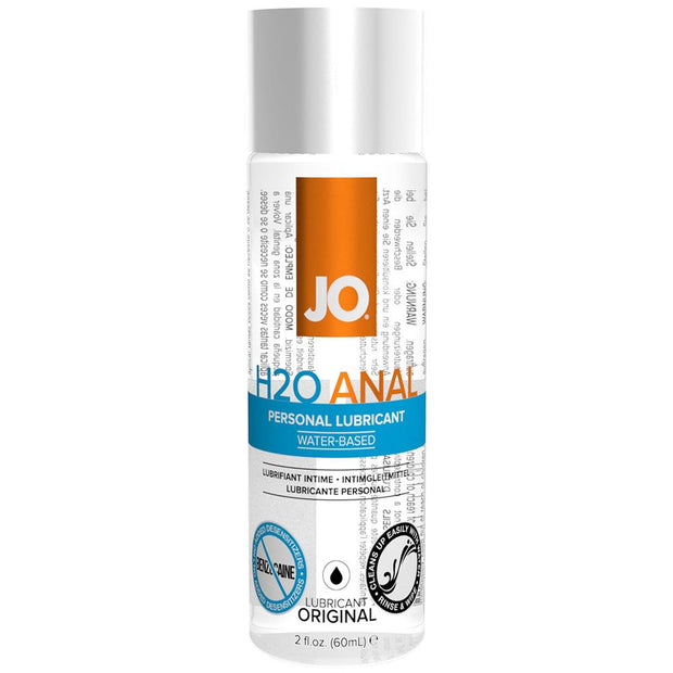H2O Personal Anal Lubricant in 2oz/60ml