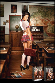 Teacher's Pet Schoolgirl Costume in OS