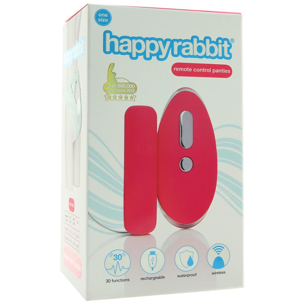 Happy Rabbit Remote Control Panties OS