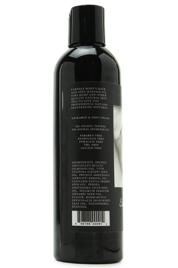 Edible Massage Oil 8oz/236ml in Cherry