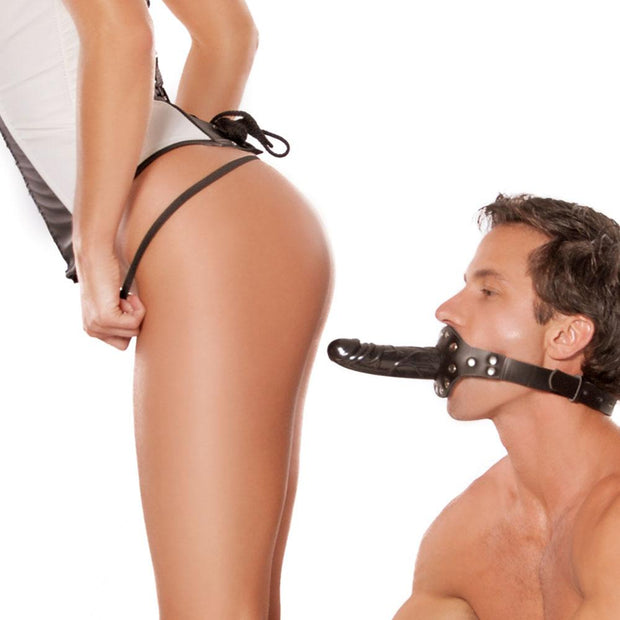 Fetish Fantasy Deluxe Ball Gag with Dildo