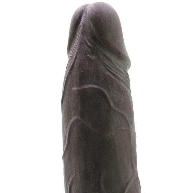 "RealCocks #4 Dual Layered 8"" Thick Dildo in Dark Brown"