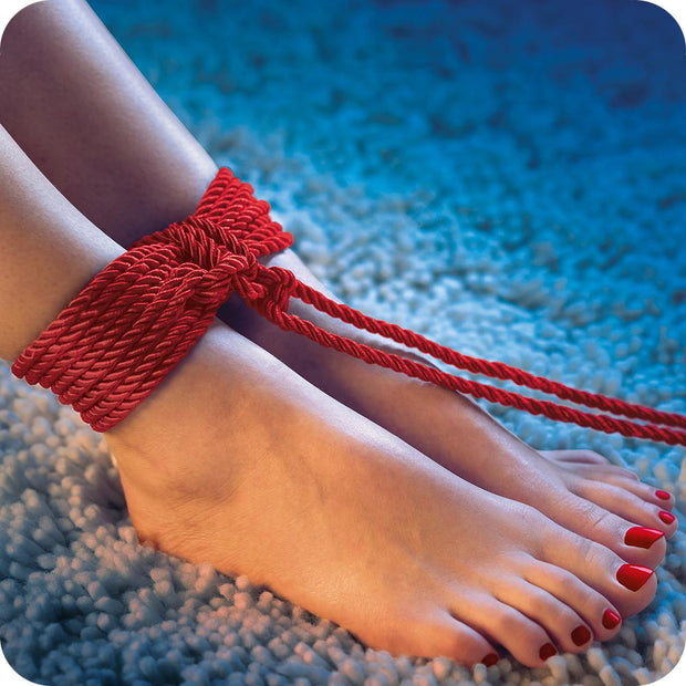 Scandal BDSM Rope 98.5'/30m in Red