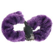 Fetish Fantasy Furry Cuffs in Purple