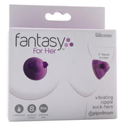 Fantasy For Her Vibrating Nipple Suck-Hers in Purple