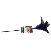 Starburst Feather Body Tickler in Violet