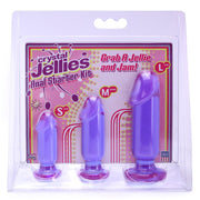 Crystal Jellies Anal Starter Kit in Purple