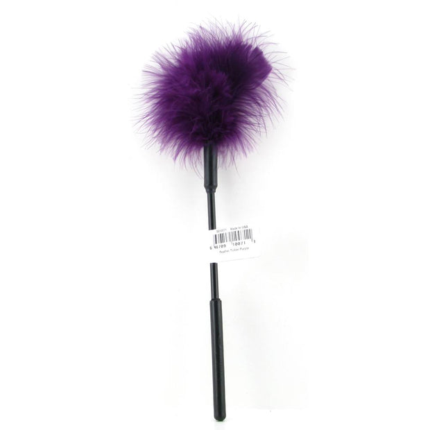 Feather Tickler 7 Inch in Purple