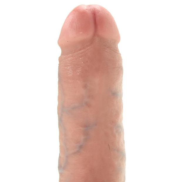 "King Cock 8"" Cock with Balls in Flesh"