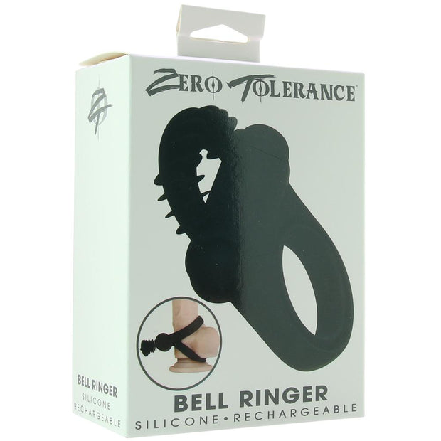 Bell Ringer Vibrating Dual Cock Ring