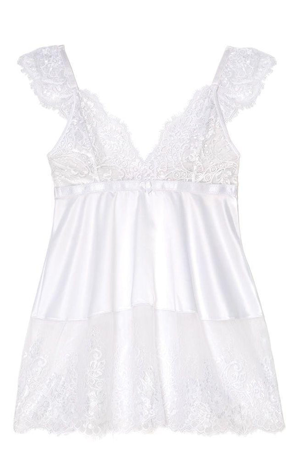 Kiss the Bride Babydoll in OSXL