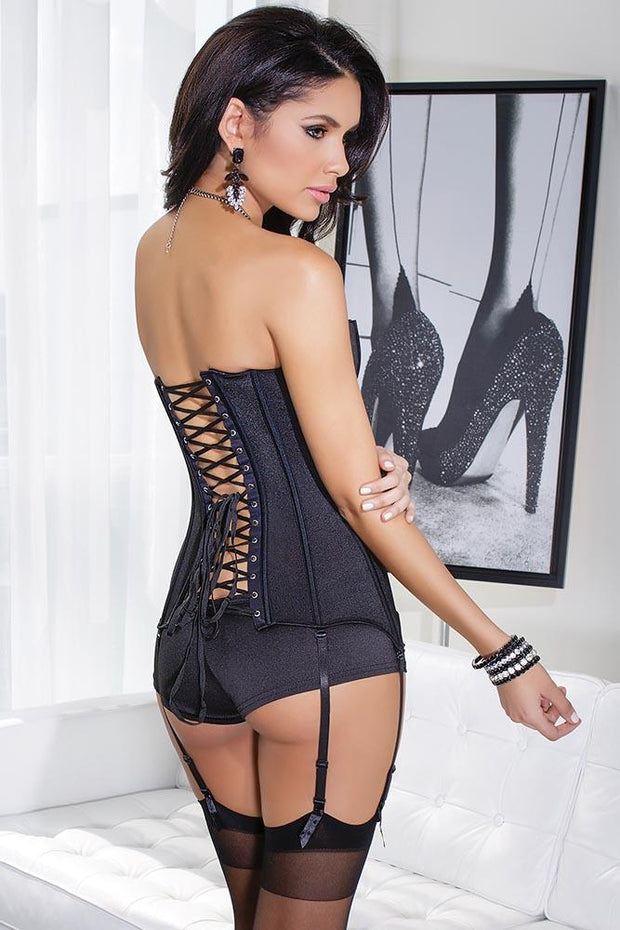 Strapless Boned Corset in L