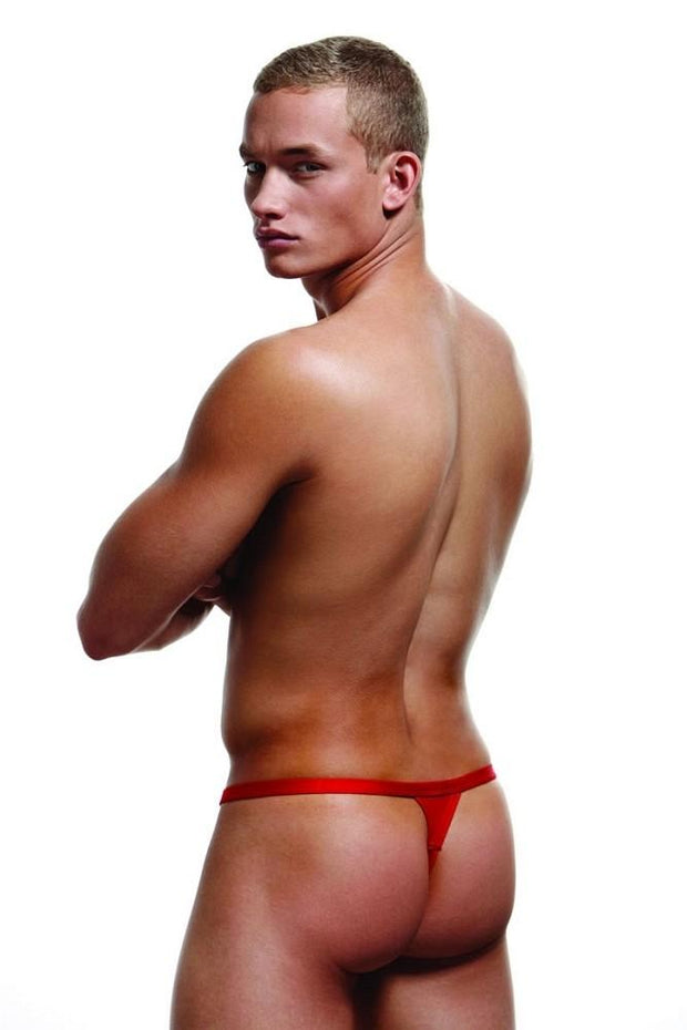 Red Break-A-Way Thong in S/M