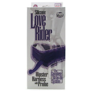 Love Rider Hipster Harness with Silicone Probe