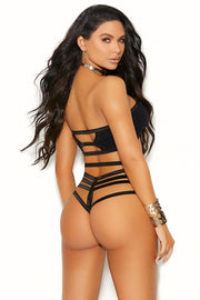All About You Strappy Bandeau & Thong in OS