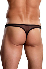 Euro Male Mesh Thong in L/XL
