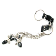 Nipple Clamps & Cock Ring Set